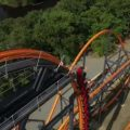 World's Tallest, Fastest, and Longest Single Rail Coaster, opened today at Six Flags in Jackson