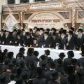 Rachmistrivka Rebbe visits Lakewood in honor of his sons Hachtara