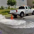 Annual Hydrant Flushing today in Elmwood Village