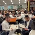 It's Bein Hazmanim in Lakewood, but the learning doesn't stop