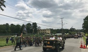 """""""Salute Our Troops"""" Day, at Camp B'lev Echad of Lakewood"""
