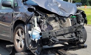 Reports of 6 patients hospitalized after major crash