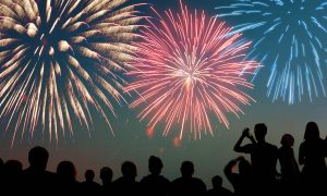 VIDEOS: July 4th Fireworks Display at Blue Claws