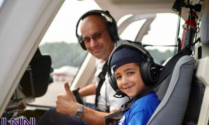 Medically and physically challenged Campers Fly High in Lakewood