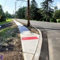 Route 88 sidewalk installation nearing completion