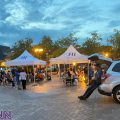 PHOTOS: Vaccination drive held last night at Town square