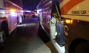 Lakewood bus breaks down in the middle of GSP causing closures late last night