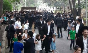 Hachnosas Sefer Torah held today to Sterling Forest Shul