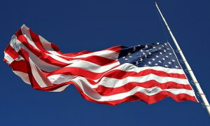 U.S. and New Jersey Flags to Fly at Half-Staff on Monday