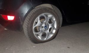 Tire slashing, vandalism, being investigated in the Flair area of Jackson