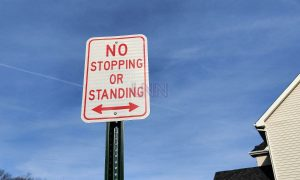 Township prohibits parking on portions of Lanes Mills Road