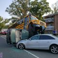NISSIM: School bus carrying 17 children gets into scary accident ending with miracles