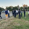 Daily Mincha on the Garden State Parkway in full swing
