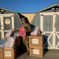 Chai Lifeline Donates Backpacks to Children of Active Troops engaged in welcoming Afghan refugees to Joint Base MDL