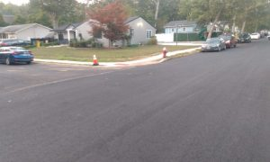 Road Paving Underway in Seminole/Pawnee Area, Expect Parking Restrictions All Week