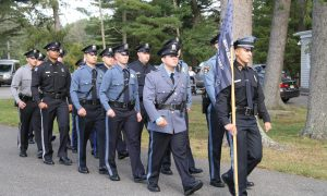 Police officers from Lakewood and other municipalities graduate the 110th police recruit class in Lakewood