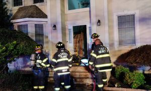 BREAKING: Fire rips through Toms River home